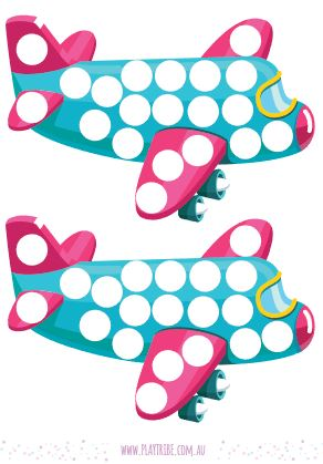 Free DOT art printable. Use dot markers, sticker dots or just colour in the dots