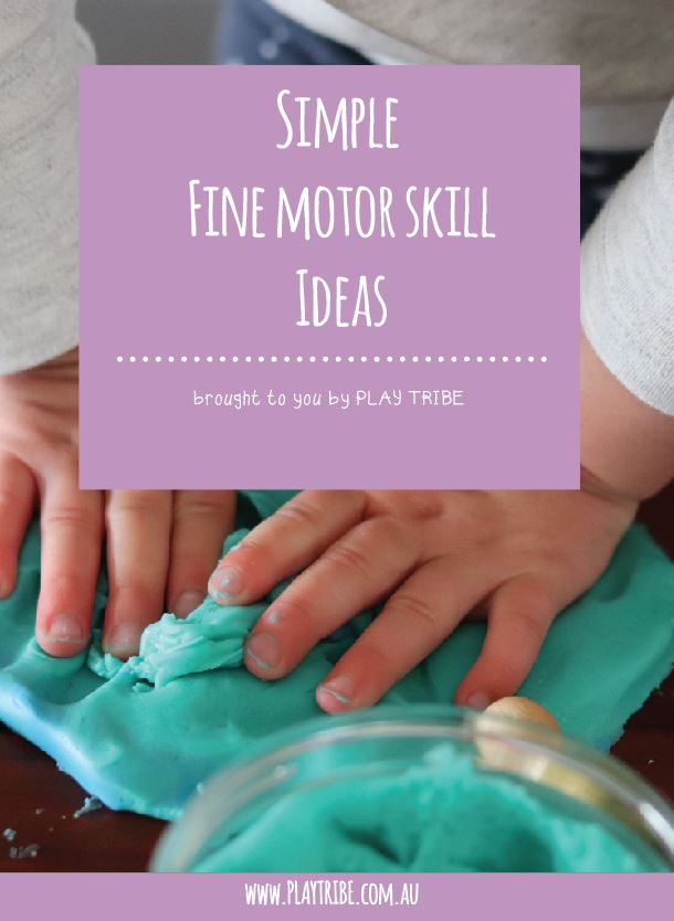 FREE Simple fine motor skill eBook. Great for babies, toddlers and beyond. The perfect, cheap and simple way to set up intentional play in your home.