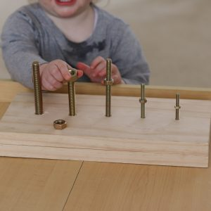 DIY Screw & Nut Board