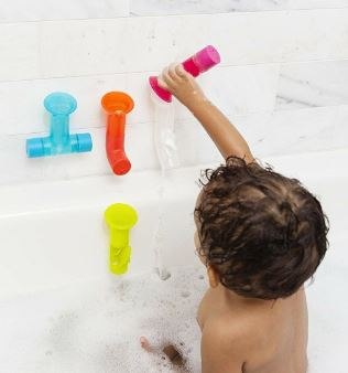 Scoop and pour until your heart is content with these bath tubes