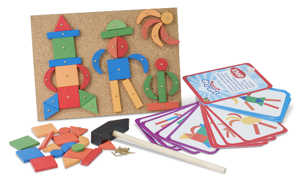 Tap tap hammer game. Great for hand eye coordination, problem solving and to spark creativity
